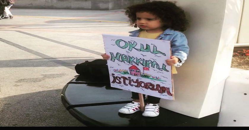 İstanbul Otizm Eylemi Şişli Cevahir