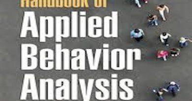 Uygulamalı Davranış Analizi İle İlgili 30 En Önemli Kitap Listesi (İngilizce Kitap Listesi)