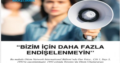 """""""BİZİM İÇİN DAHA FAZLA ENDİŞELENMEYİN''"""